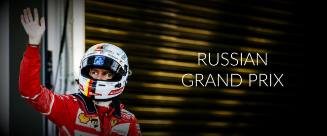 RUSSIAN GP BANNER