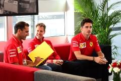 GP ITALIA F1/2019 - GIOVEDI 05/09/2019 credit: @Scuderia Ferrari Press Office