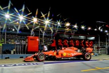 GP SINGAPORE F1/2019 - SABATO 21/09/2019 credit: @Scuderia Ferrari Press Office