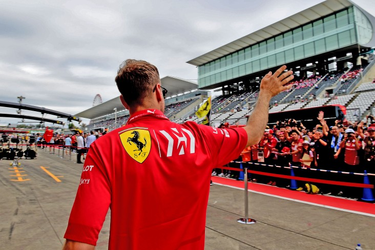GP GIAPPONE F1/2019 - GIOVEDÌ 10/10/2019 credit: @Scuderia Ferrari Press Office