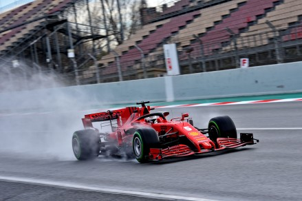 TEST T2 BARCELLONA - GIOVEDI 27/02/2020 - SEBASTIAN VETTEL © Scuderia Ferrari Press Office