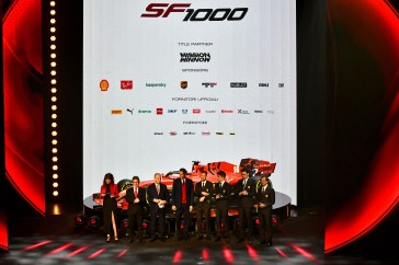 REGGIO EMILIA (ITALY) 11/02/2020 - PRESENTAZIONE FERRARI SF1000 - credit: © Scuderia Ferrari Press Office